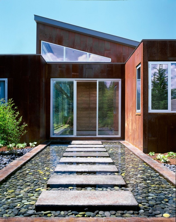 34 tolle und innovative vorgarten und hinterhof ideen, Garten und Bauen