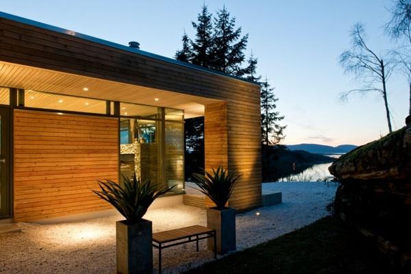 Modern Cabin GJ beleuchtung freien garten