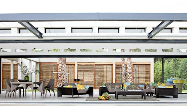 Polyrattan Gartenmöbel tisch stuhl außenbereich design