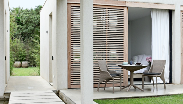 Polyrattan Gartenmöbel tisch stuhl außenbereich essecke draußen