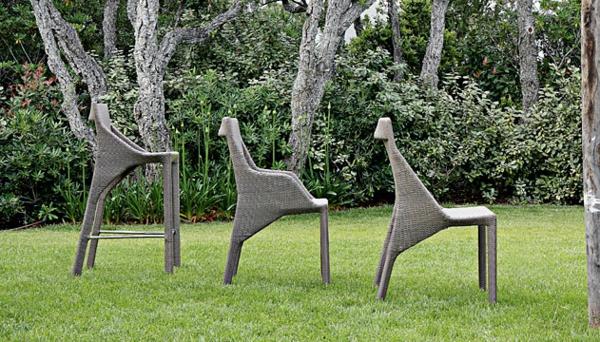 Polyrattan Gartenmöbel tisch stuhl außenbereich verschieden größe