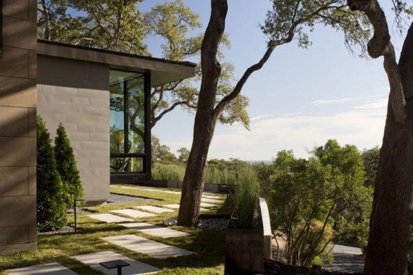 Skyline House design garten gestaltung innovative Landschaft Ideen