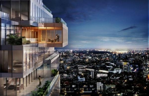 attraktiven balkon gestalten design blumen futuristisch