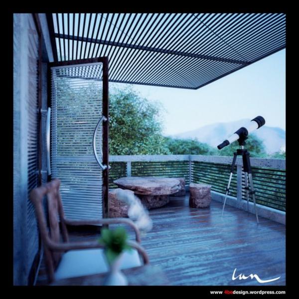 attraktiven balkon gestalten einige der sch nsten balkon designs. Black Bedroom Furniture Sets. Home Design Ideas