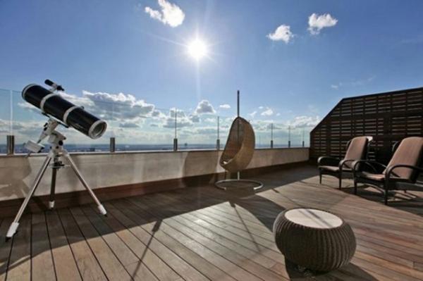 Terrasse und Balkon Holzfliesen Ideen und andere Bodenbeläge