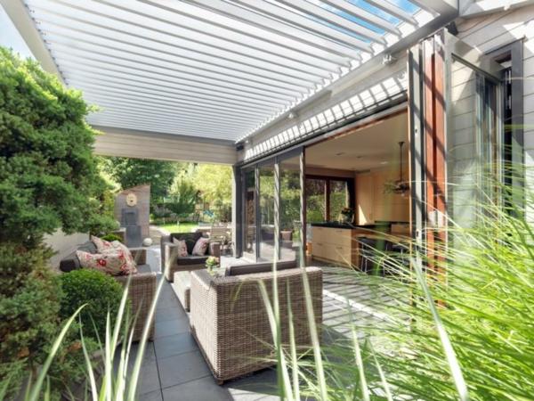 Terrasse und garten sonnenschutz ideen   sonnensegel und markisen
