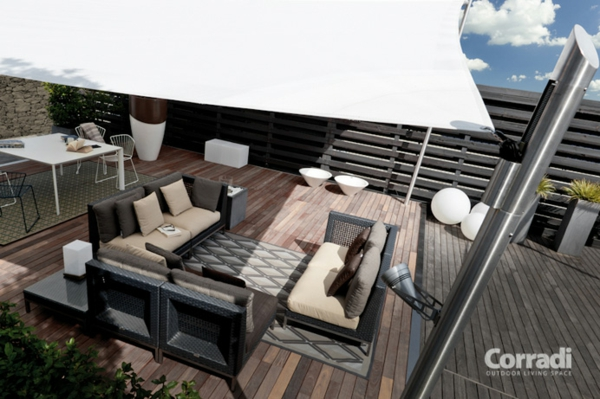 Outdoorküche Klappbar Forum : Terrasse und garten sonnenschutz ideen sonnensegel und markisen