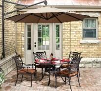 Balkon gestalten – genießen Sie die Sommertage im Schatten