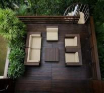 Terrasse und Balkon mit Holzfliesen verlegen – Verwenden Sie Holzfliesen als Bodenbelag