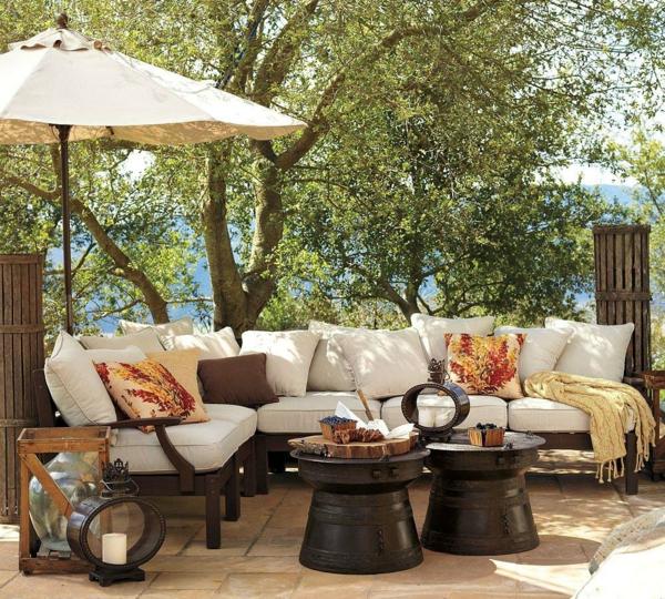 Balkon gestalten orientalisch  Coole Garten und Balkonmöbel Ideen - Designer Einrichtungslösungen