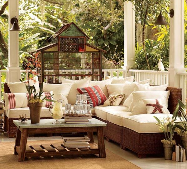 balkon möbel idee holz bodenbelag terrasse