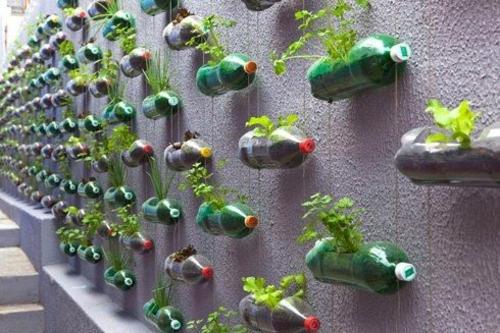 balkon pflanzen - coole platzsparende ideen, Garten ideen