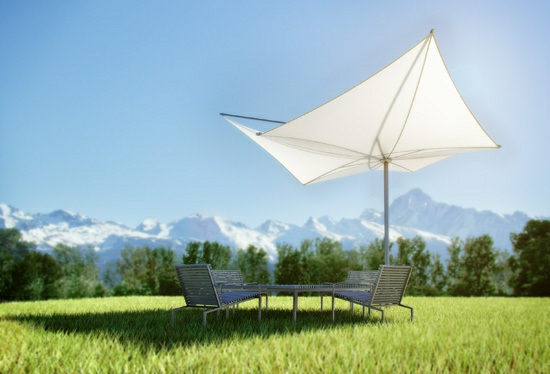 balkon sonnensegel schattenspender designer ideen form