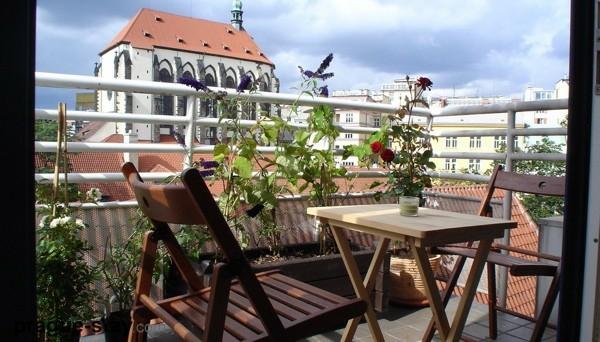 balkon pflanzen design ideen behaglich