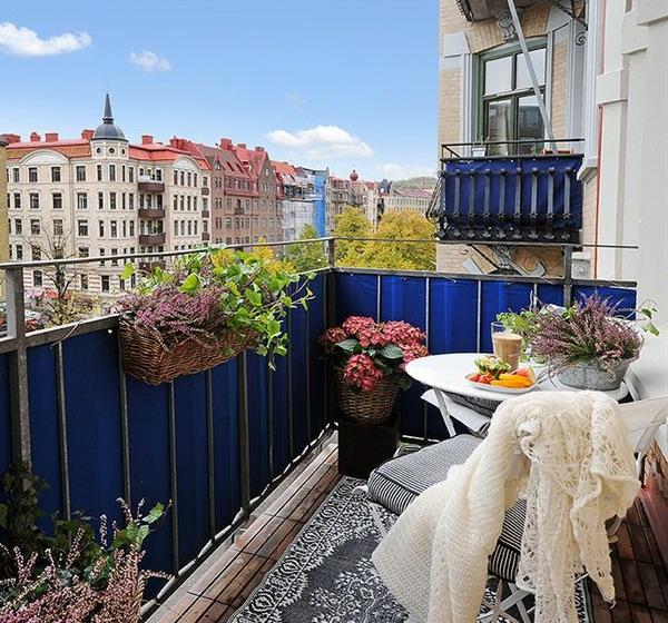 77 Praktische Balkon Designs - Coole Ideen, Den Balkon Originell ... Der Franzosische Balkon Ideen