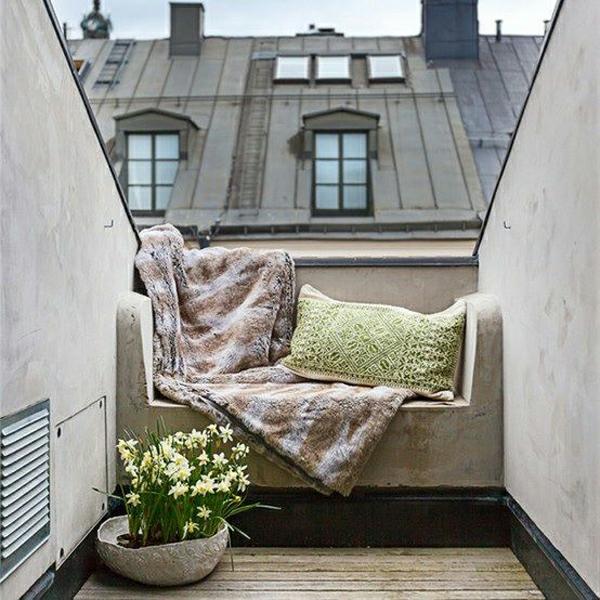 projekt balkon design ideen sitzecke