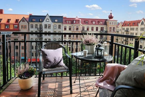 projekt balkon design ideen städtisch gestaltung