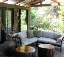 20 stilvolle Ideen für Sitzecke im Freien – bequemer Sitzplatz im Garten