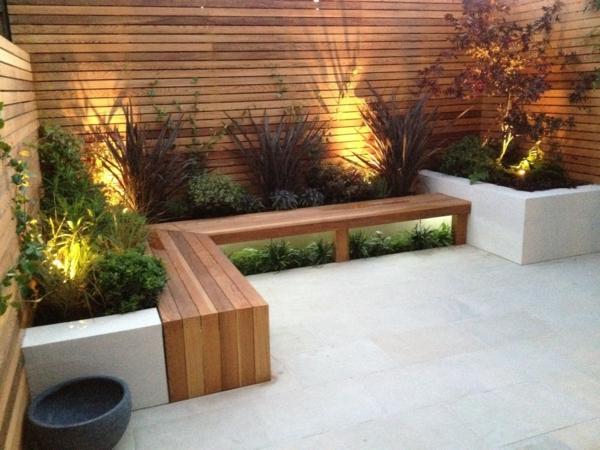 Bequemer sitzplatz im garten 20 stilvolle sitzecken im freien - Landscape design small spaces photos ...