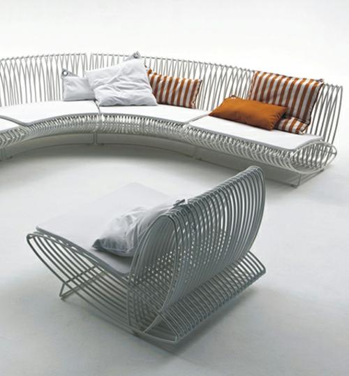 bonacina pierantonio außen modular möbel sitzkissen rattan möbel