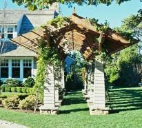 Clevere Gartengestaltung – stilvoller Übergang vom Vorder- zum Hinterhof
