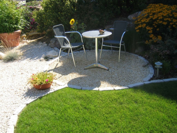 clevere landschaftsgestaltung hinterhof entspannungsecke