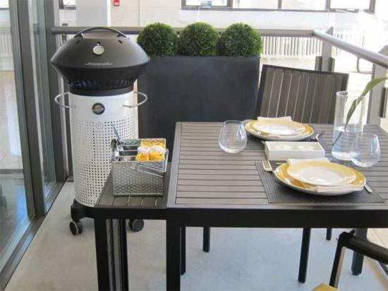 Coole Balkon Ideen - Gemütliche Grillabende Im Sommer Tisch Fur Balkon Outdoor Bereich