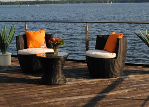 coole balkon m bel ideen n tzliche tipps f r eine sch ne terrasse. Black Bedroom Furniture Sets. Home Design Ideas
