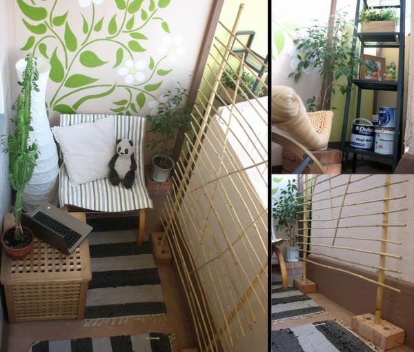 coole deko ideen für balkon designs tisch panda