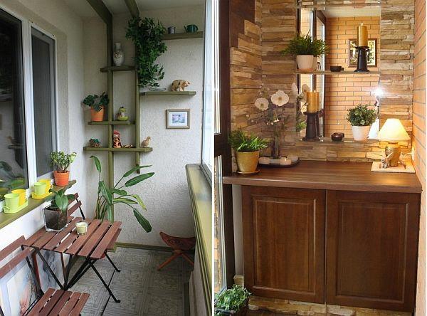 coole deko ideen für balkon designs tisch stuhl kompakt