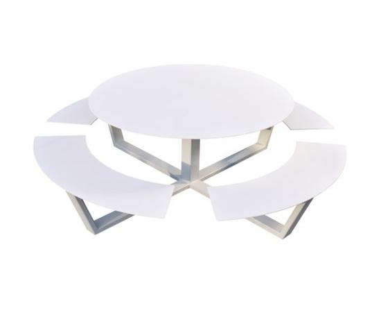 coole gartengestaltung cassecroute la grande ronde gartentisch sitzplätze
