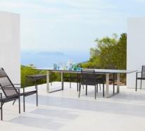 Coole Gartengestaltung – wählen Sie den richtigen Gartentisch aus!