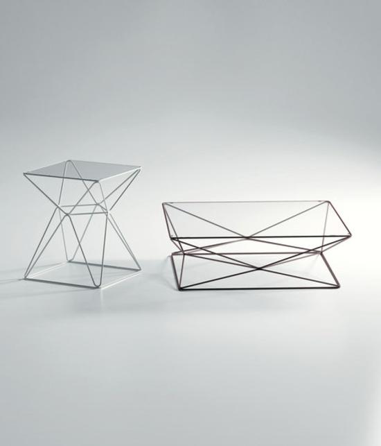 coole gartengestaltung foxhole sphouse gartentisch metall glas