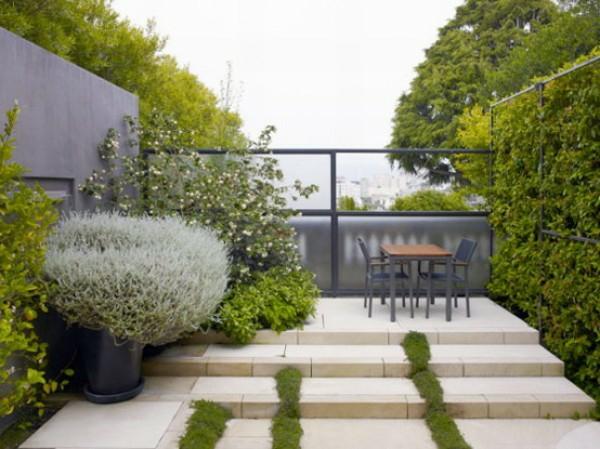 coole gartengestaltung frühling landschaft ideen garten terrasse