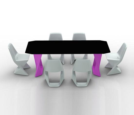 coole gartengestaltung iso hpl 3 kunststoff stapelbar stühle