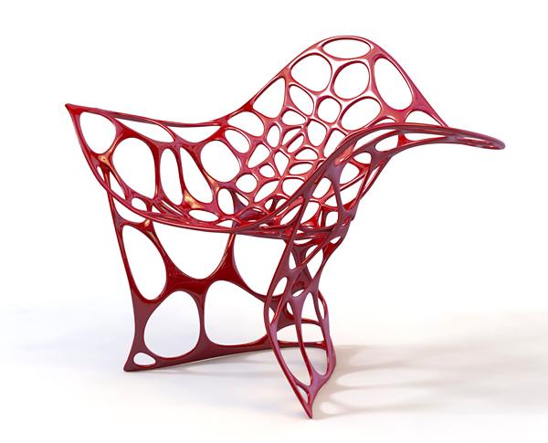 Coole m bel designs einzigartige und attraktive ideen for Design stuhl rot