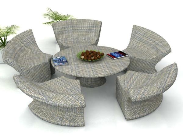 20 Coole Rattan Gartentisch Designs - den besten Tisch für den Garten