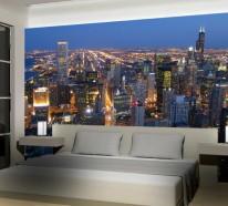 Coole Wandgestaltung – frische Ideen für Ihren Innenraum