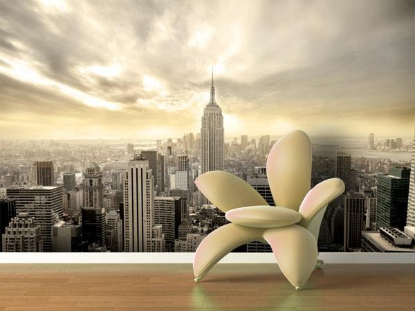 coole wandgestaltung new york fototapete