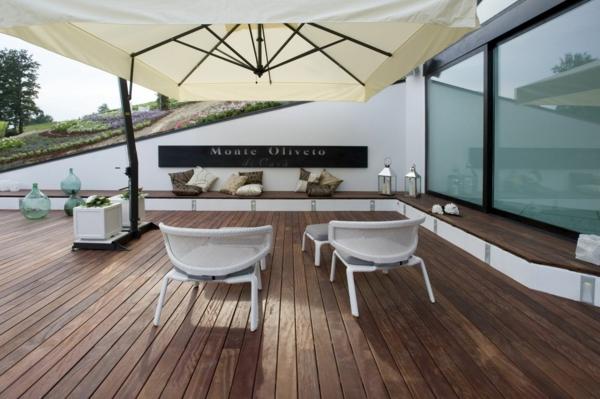 deck design ideen holz material massiv monte oliveto