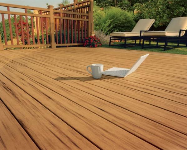deck design ideen holz material toll cool