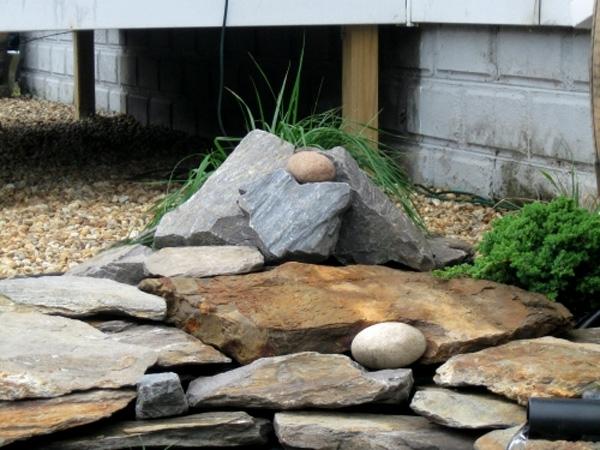 der japanische garten steine symbole