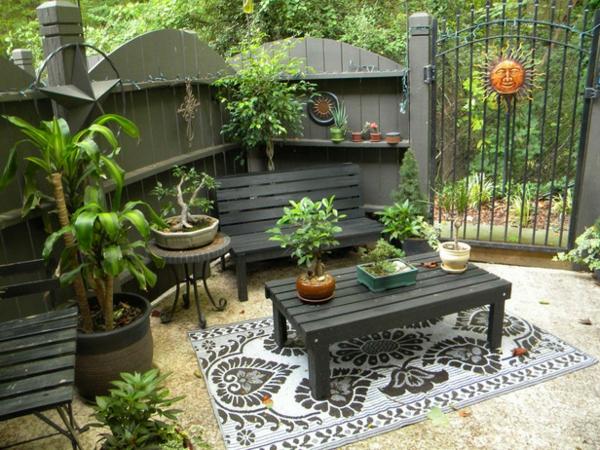 cooles design im hinterhof gartengestaltung im eklektischen stil. Black Bedroom Furniture Sets. Home Design Ideas
