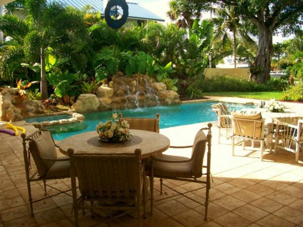 design im hinterhof originell stilvoll extravagant pool
