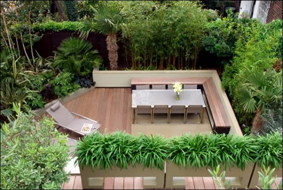 designer terrasse gestaltung amir schlezinger garten holzboden