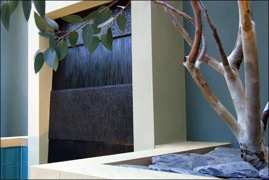designer balkon gestaltung amir schlezinger wasserfall
