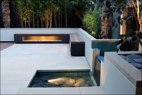 designer balkon gestaltung amir schlezinger wasserfall bank