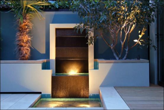 designer balkon gestaltung amir schlezinger wasserfall struktur