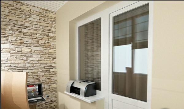designer balkon projekte idee beige farben
