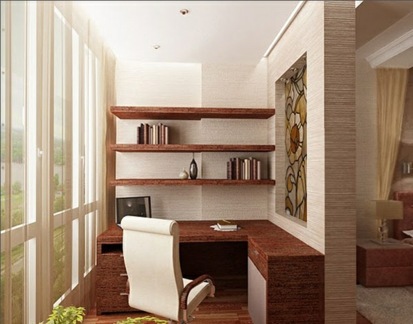 designer terrasse projekt idee holz büro office regale
